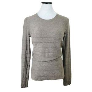 Gerard Darel Women's Soft Metallic Striped Sweater